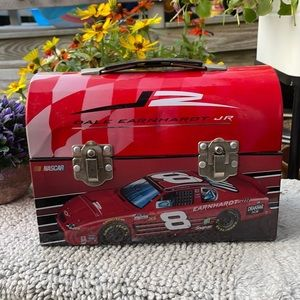 🏁 Dale Earnhardt Jr Vintage Lunch Box Tin Can